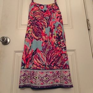 Lily Pulitzer patterned dress. Fits small